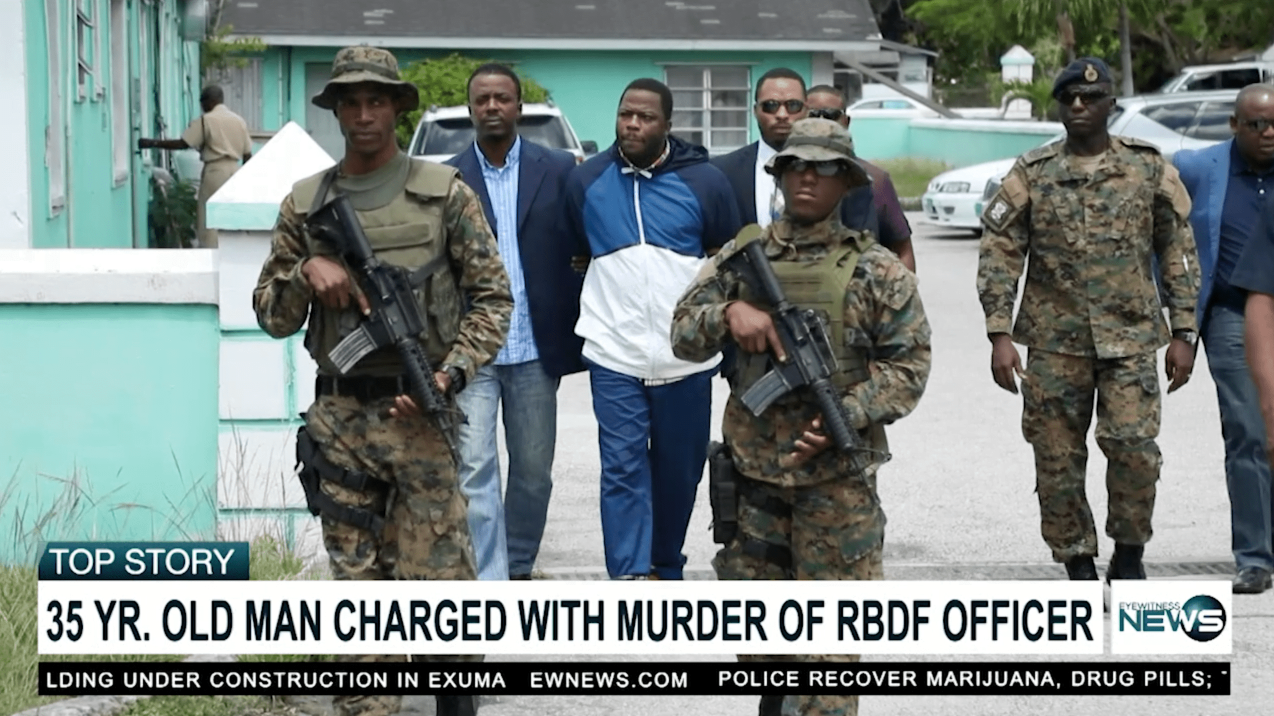 RBDF Marine charged with Govt. House murder