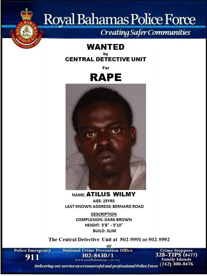 Man wanted for rape