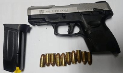 Police recover illegal firearm from derelict refrigerator and track road