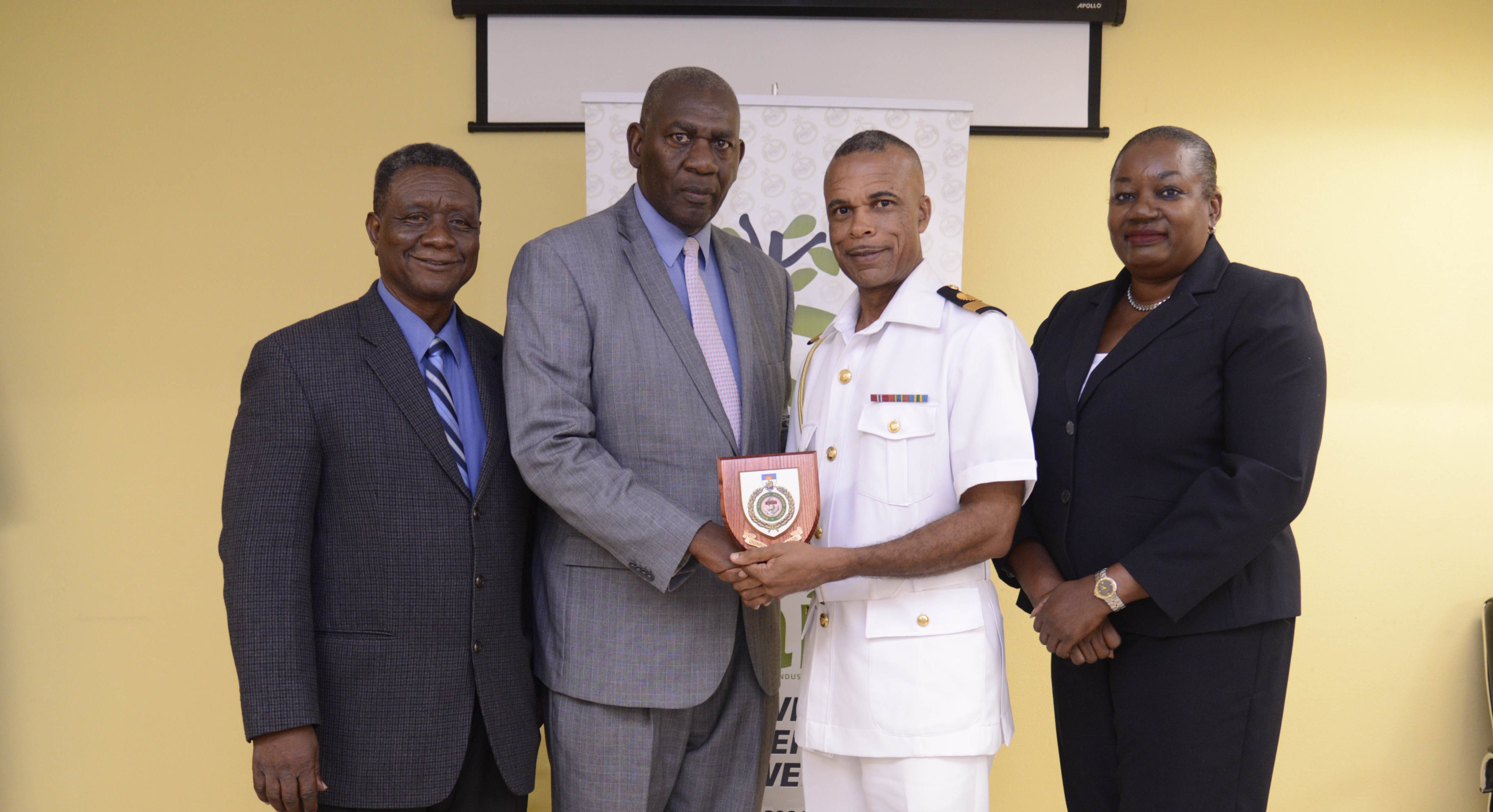 Defence Force personnel complete business development program at BAIC