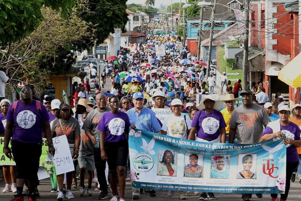 Union leaders lament 'poor' working conditions at Labour Day Parade