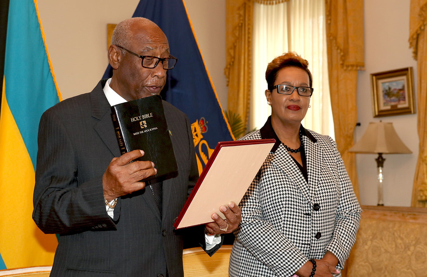 C.A. Smith Sworn in as Deputy to the Governor General