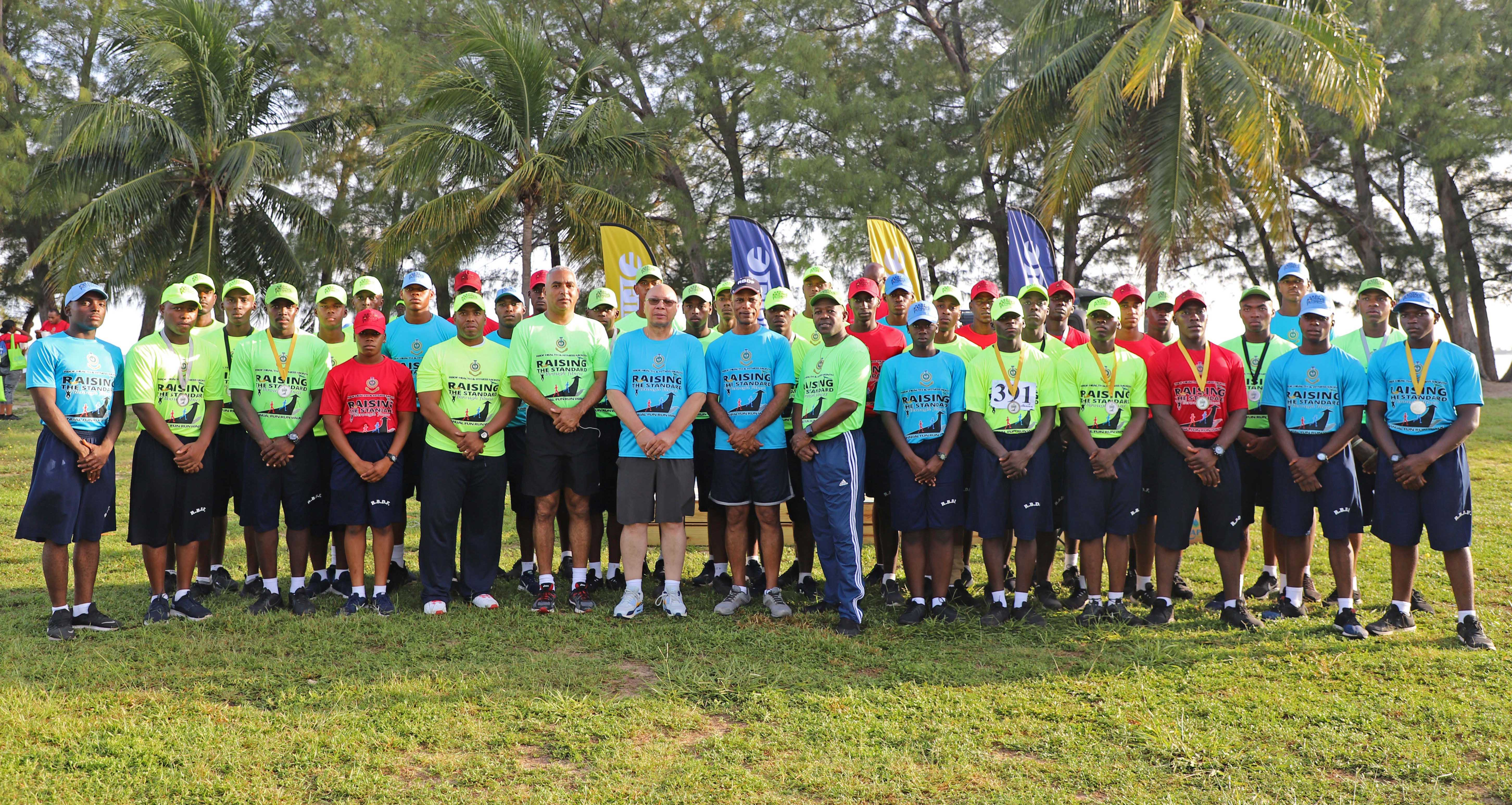 RBDF hosts fun run walk and health expo