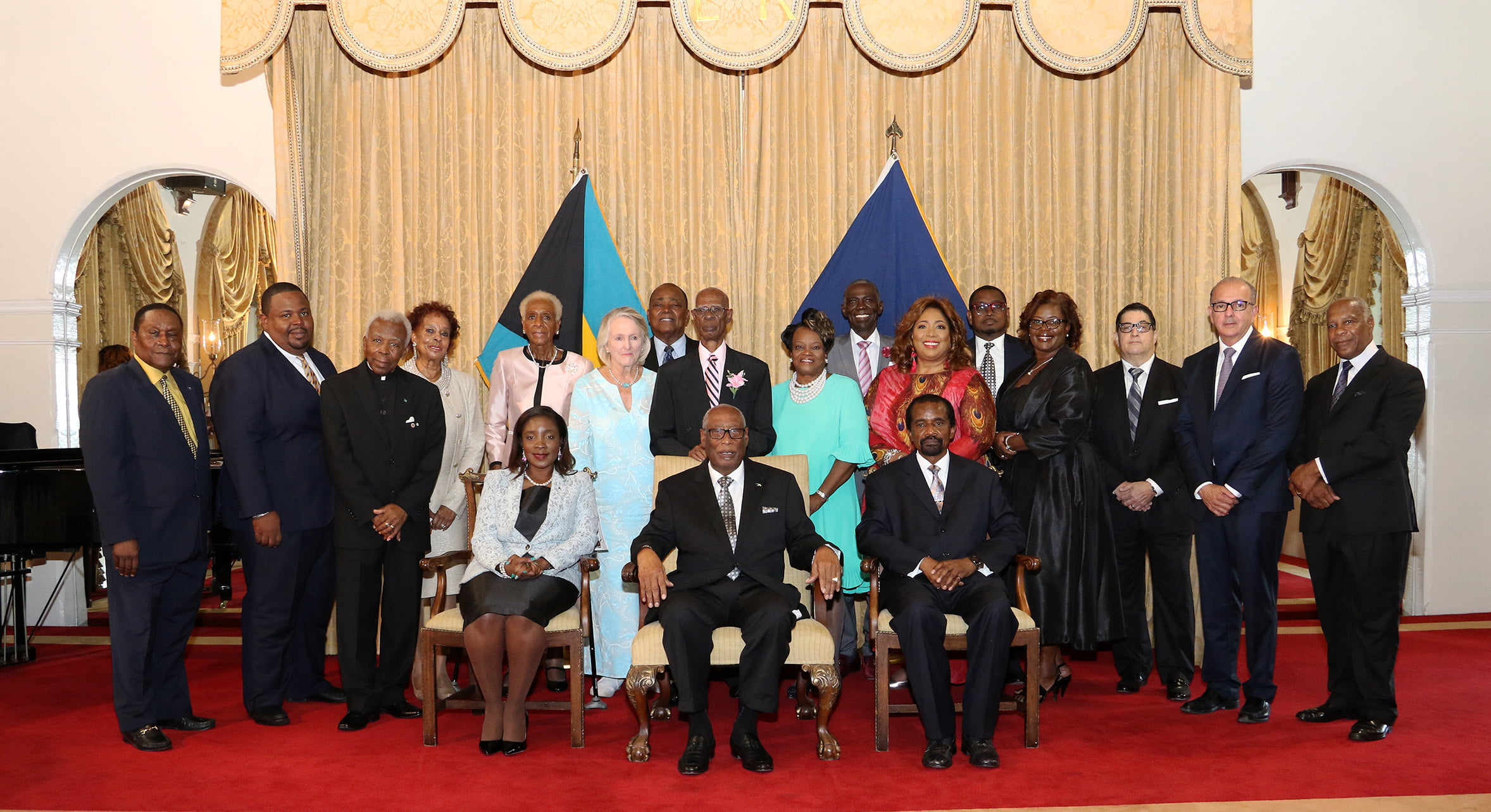24th R.E. Cooper Meritorious Service Award presented to honorees at Government House