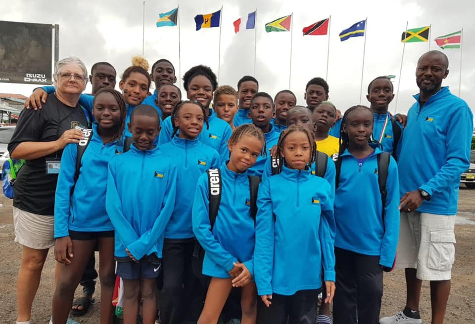 Bahamas finishes fifth at 2019 Goodwill Games swim meet