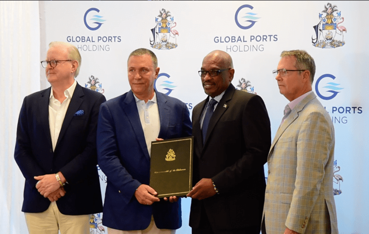 Govt. signs $250 mil. cruise port deal with GPH