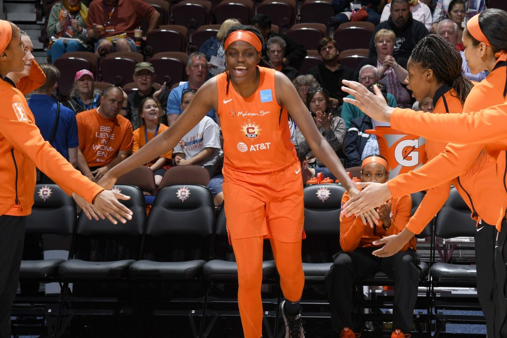 Jones, Sun prepared to face Sparks in WNBA semifinals