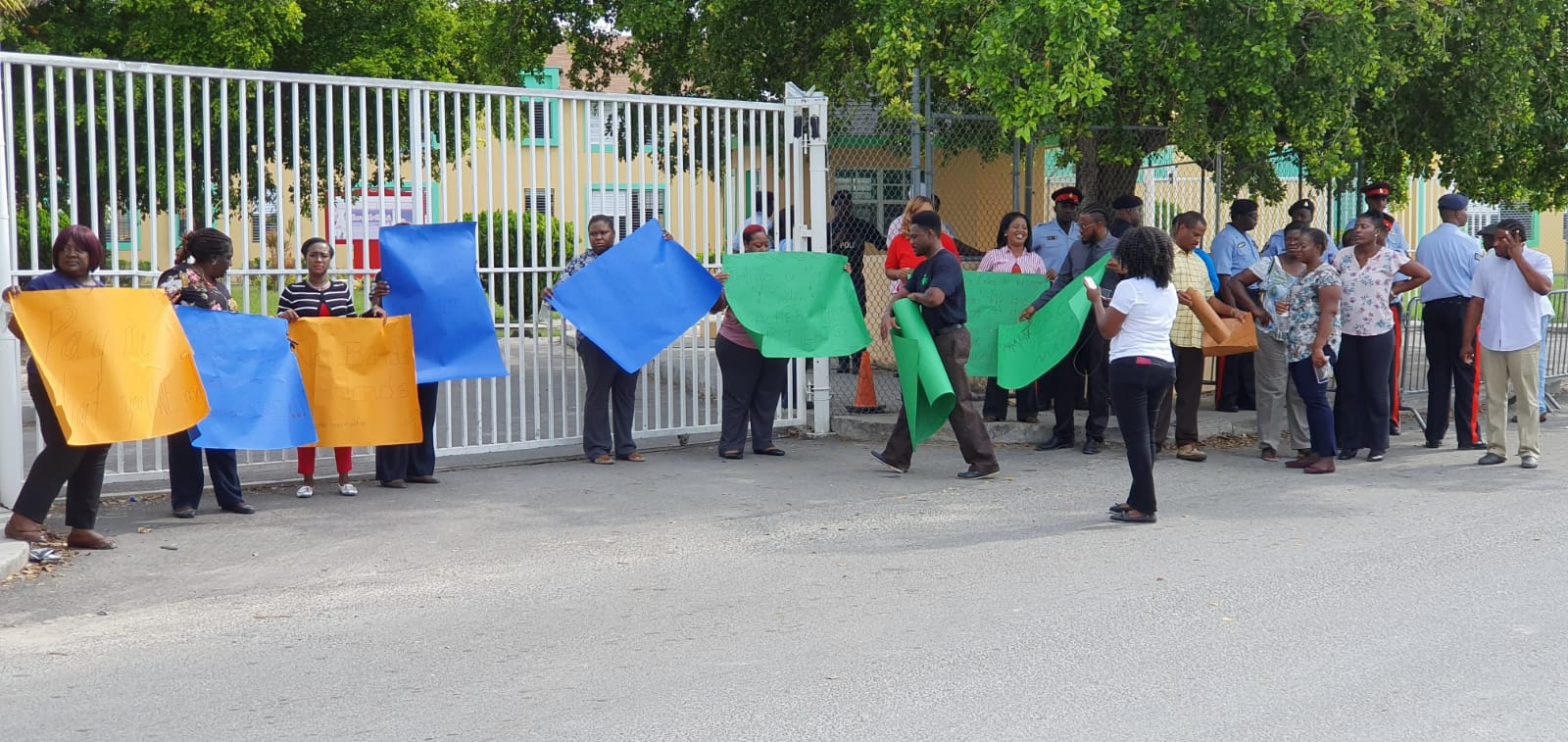 Carlton E. Francis Primary School enters third week of protest