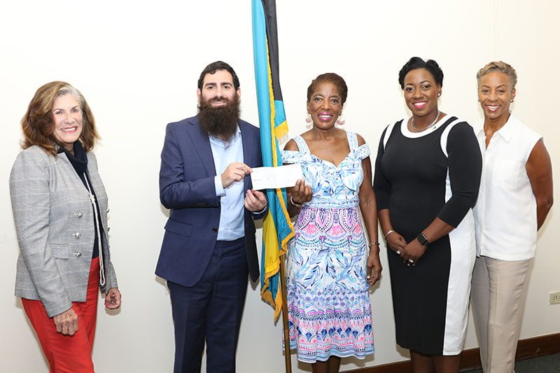 Local Jewish Community Gives to #fitforschool Initiative to Assist Hurricane Dorian-Impacted Schoolchildren