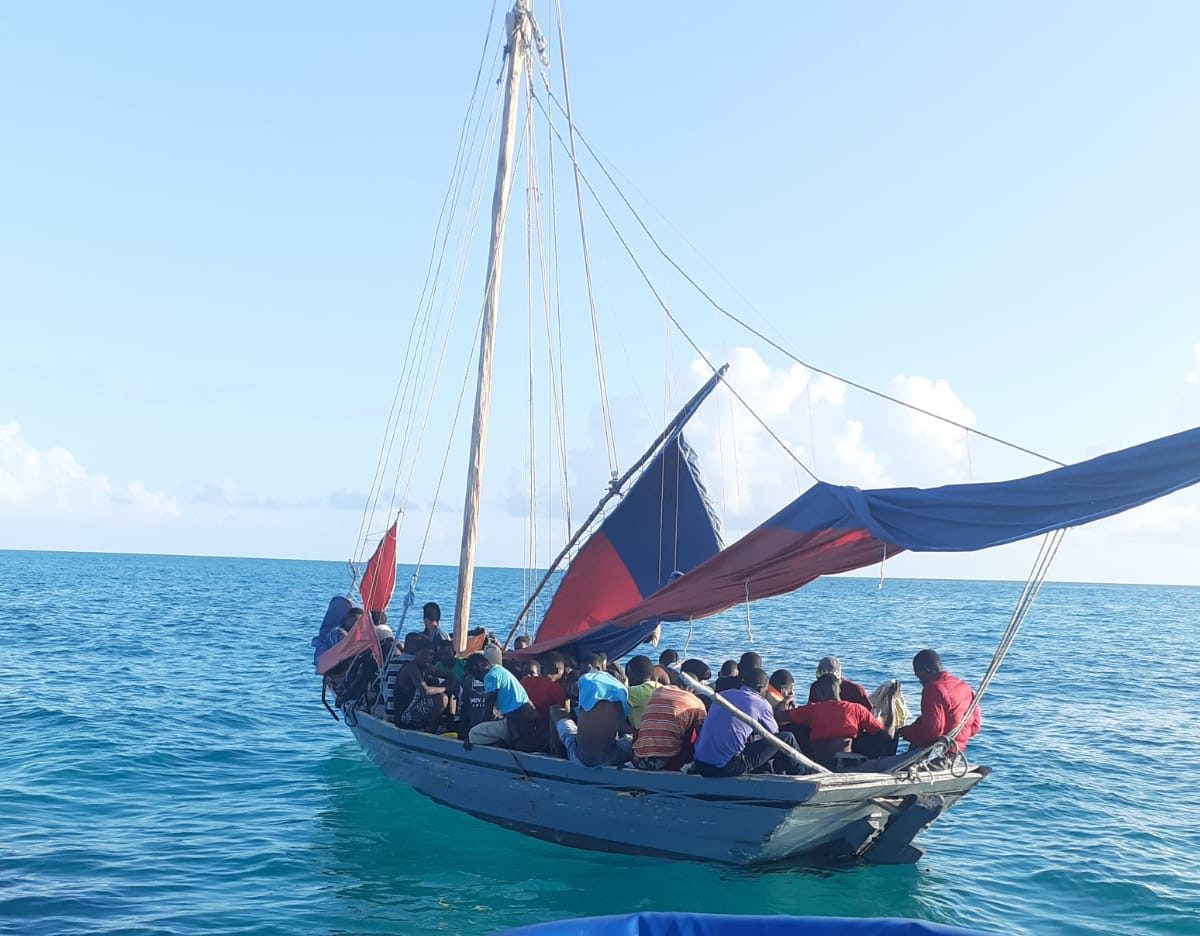 Police intercept vessel with 58 Haitians onboard  EyeWitness News