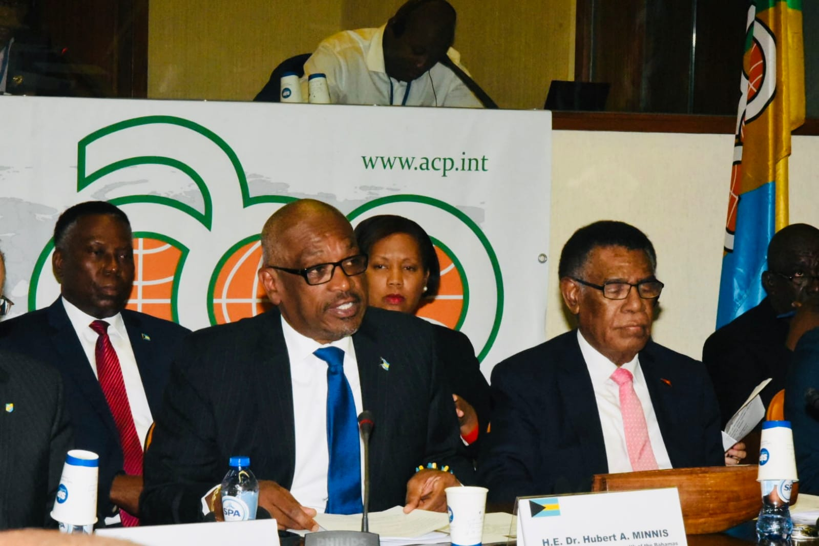 PM Minnis urges ACP countries to intensify response to climate emergency