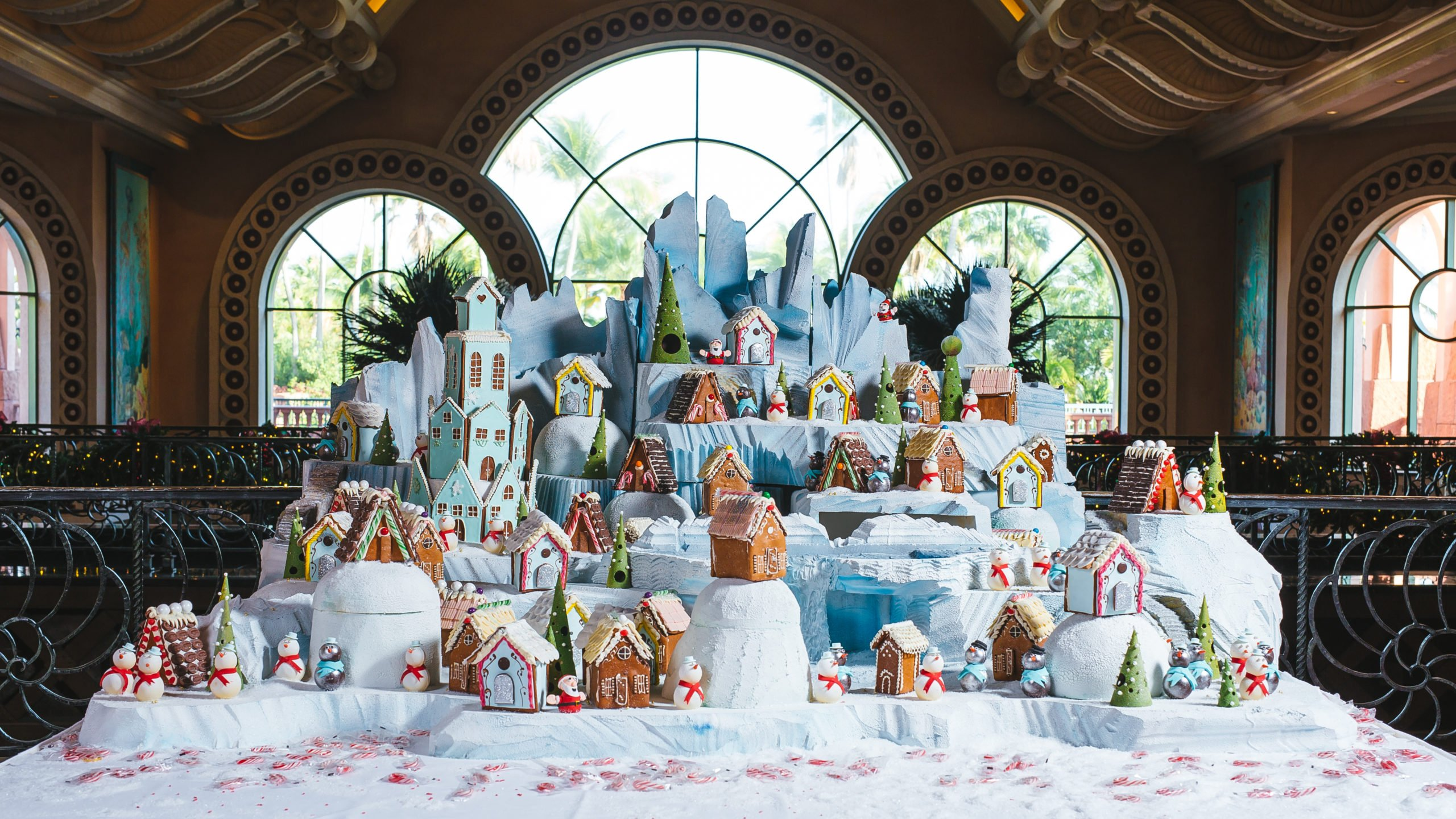 Atlantis' Gingerbread Village puts guests and visitors in the Christmas spirit