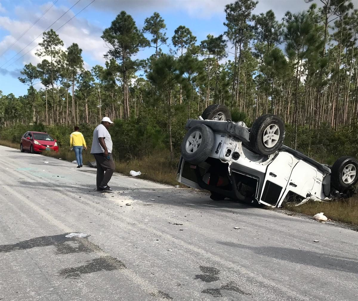 Chief Immigration Officer dies from injuries in Abaco crash