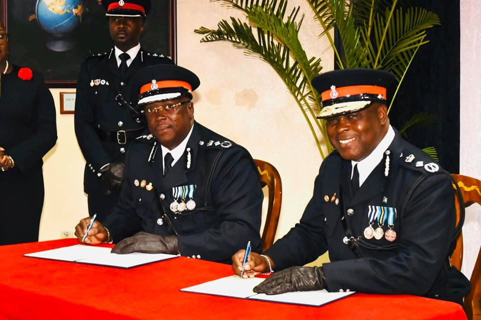 Paul Rolle officially becomes commissioner of police