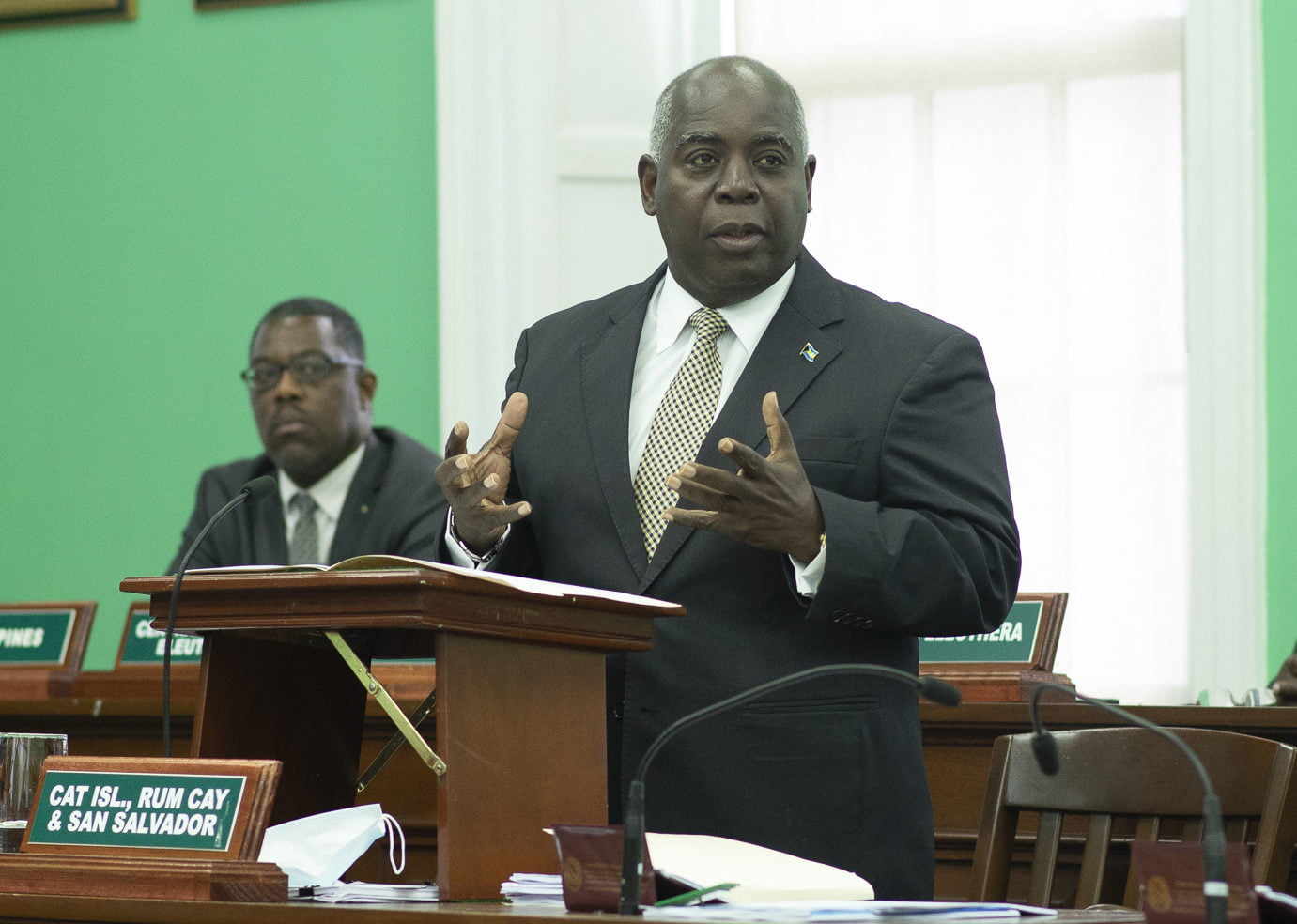 Davis pledges his administration will not tolerate corrupt PLPs