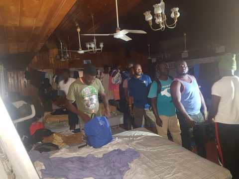 "Authorities arrest 109 Abaco church ""squatters"""