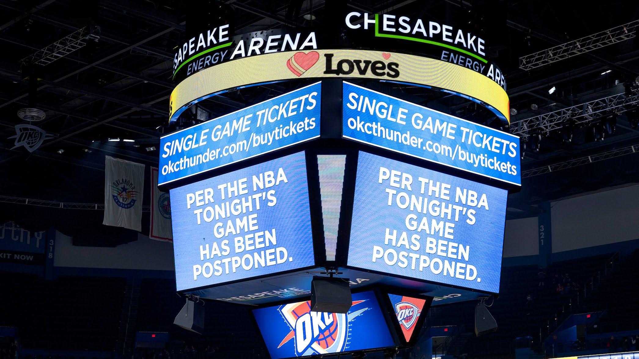 NBA to suspend season following Wednesday's games