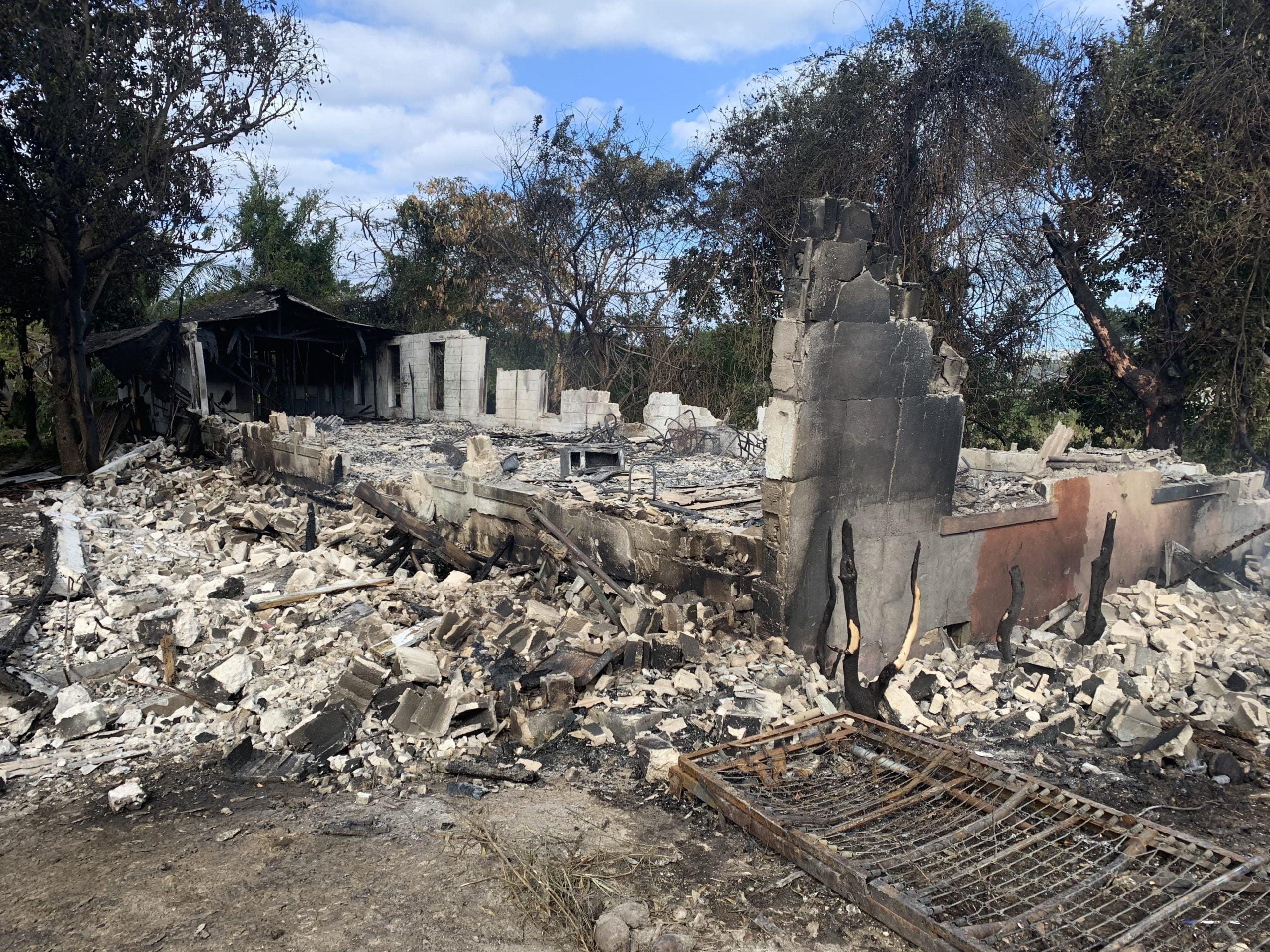 Security concerns spike after elderly home set ablaze