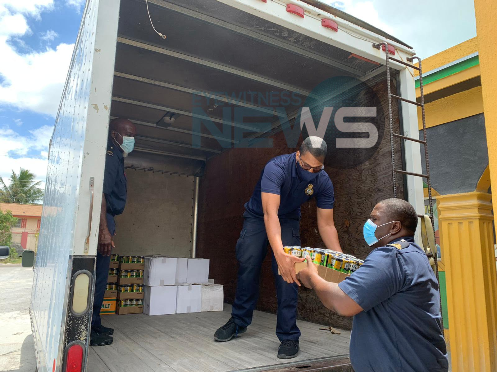 "Cases of ""illegal"" alcohol seized from Man Made Liquor Store"