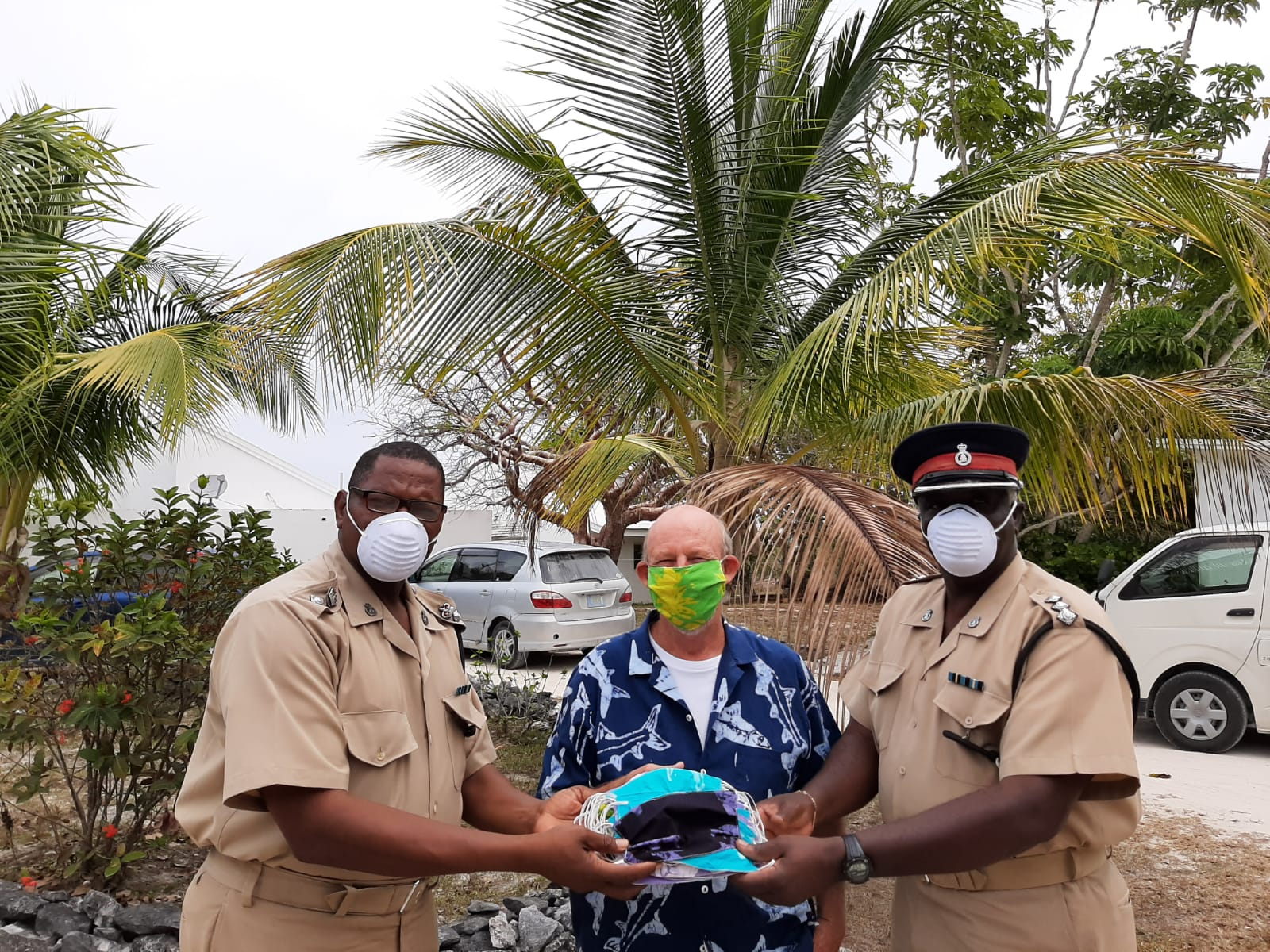 Androsia Batik Factory donates hundreds of masks to frontline workers