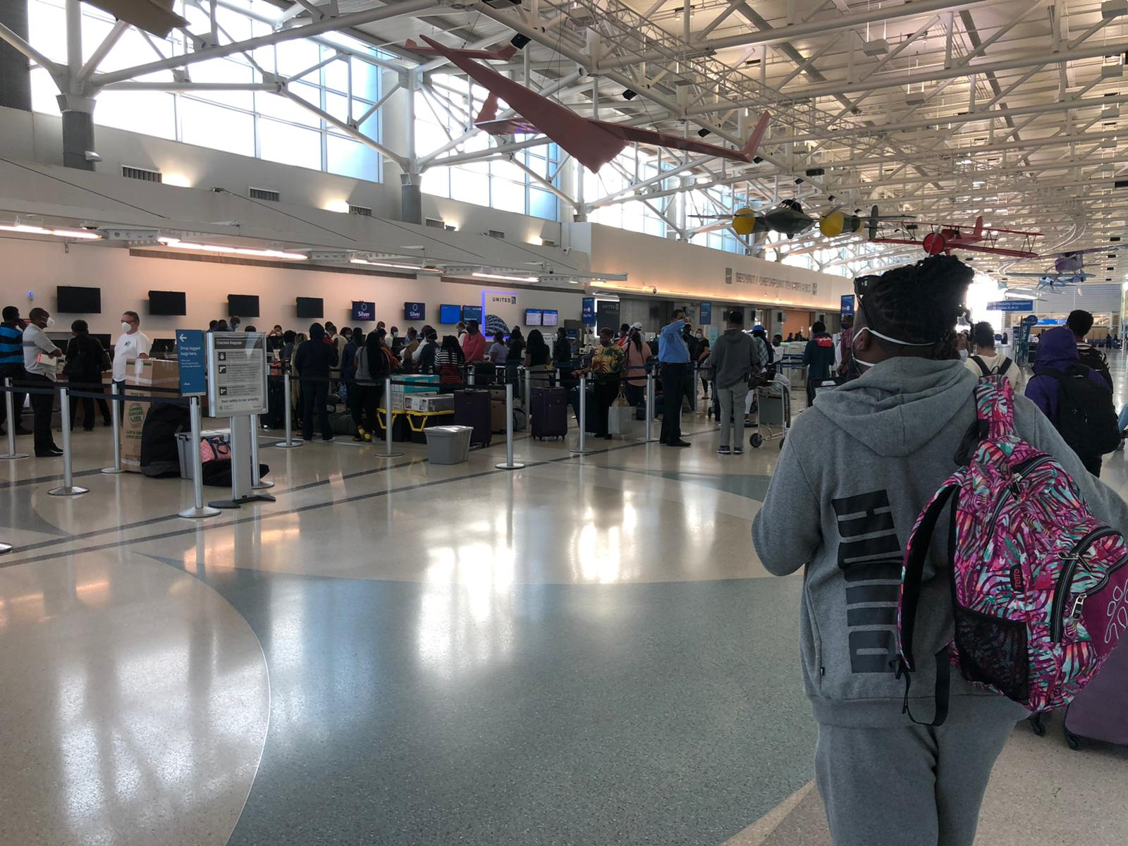 Bahamians and residents check-in to come home