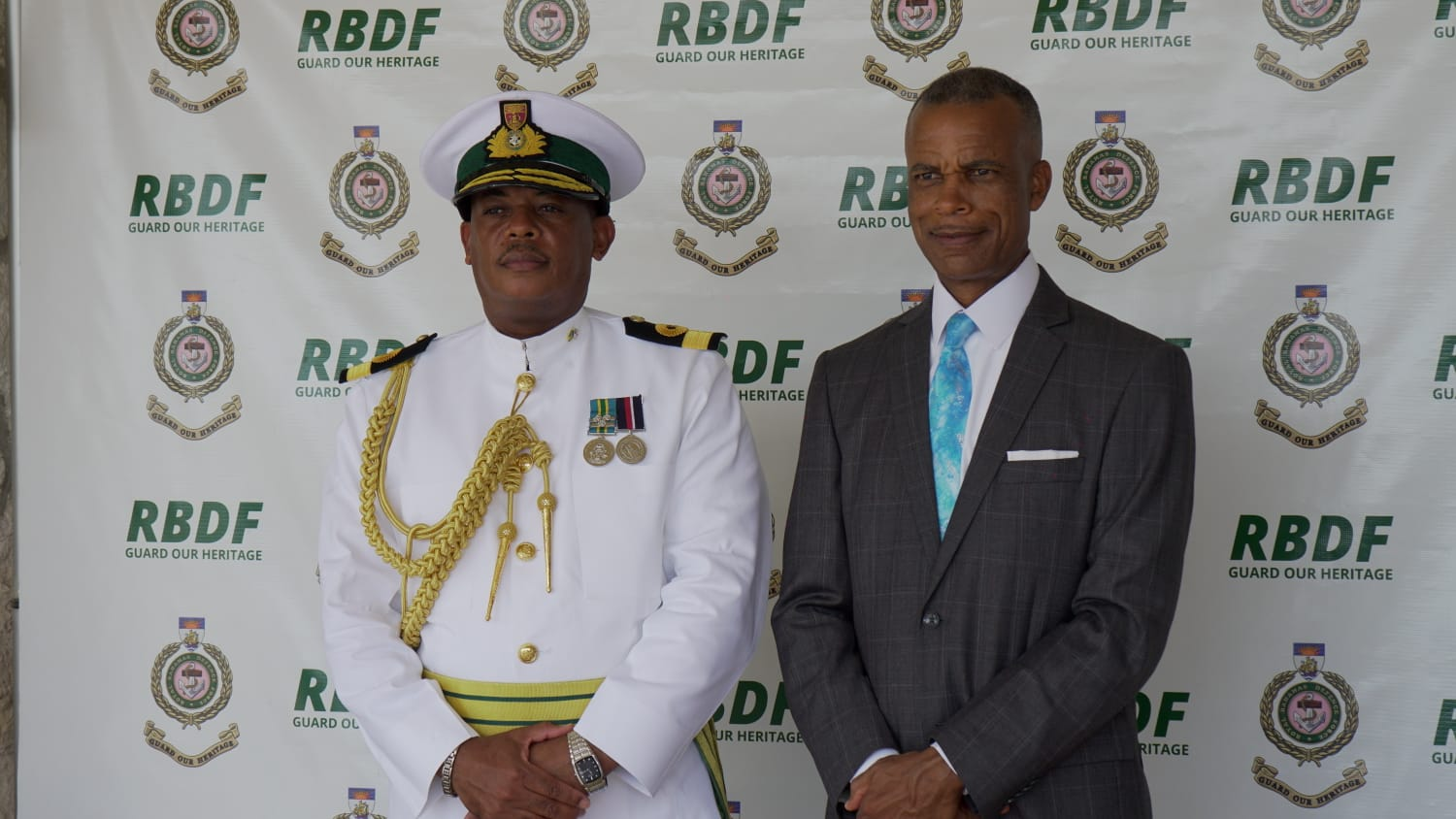 """PM: King's leadership of RBDF comes at """"critical time"""""""