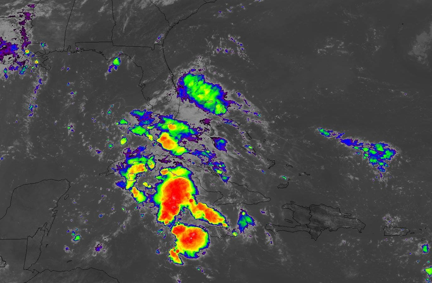 Weather disturbance has 80 percent chance of becoming tropical depression today