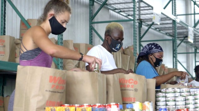 Employed persons urged to withdraw from food assistance