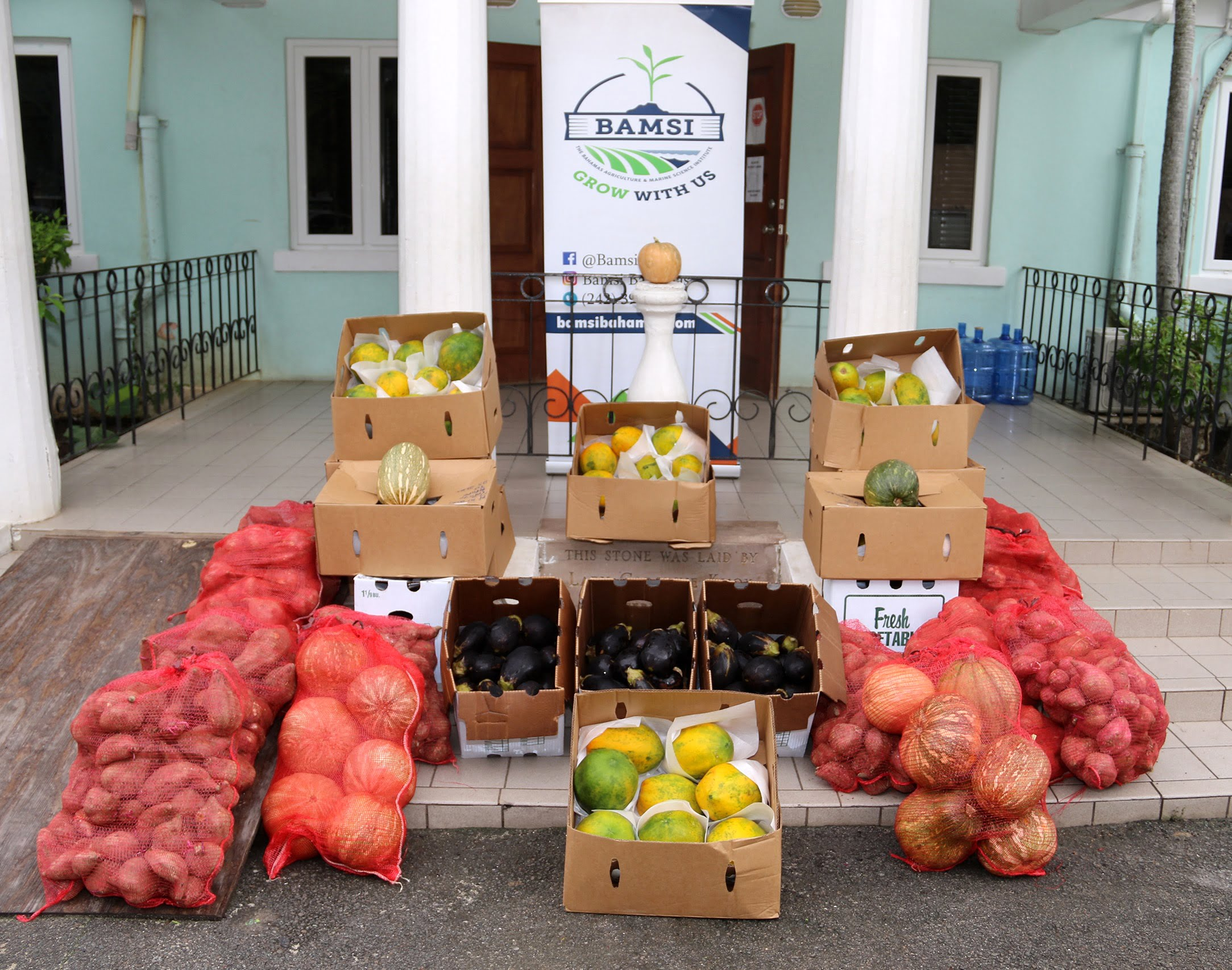 Harnessing the gift of food: BAMSI donates produce to Ranfurly Home