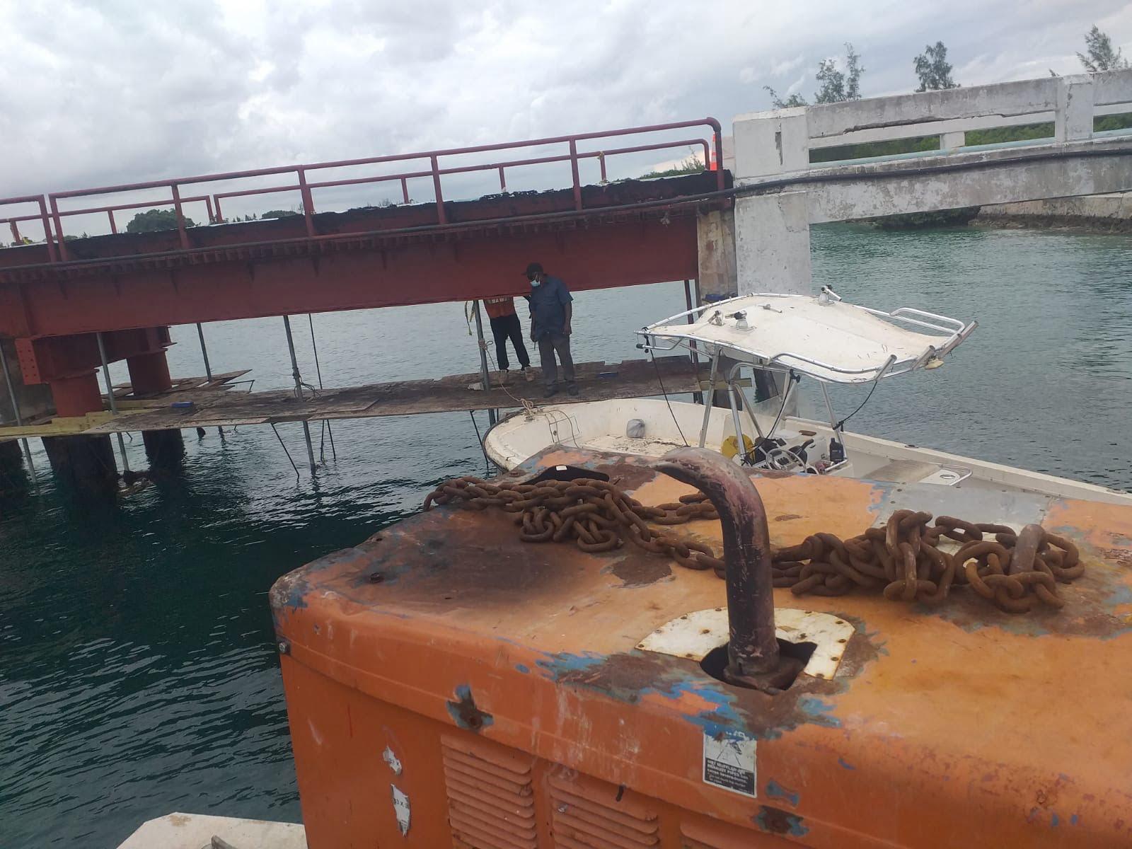 Engineers preparing report for temporary fix of Fresh Creek Bridge