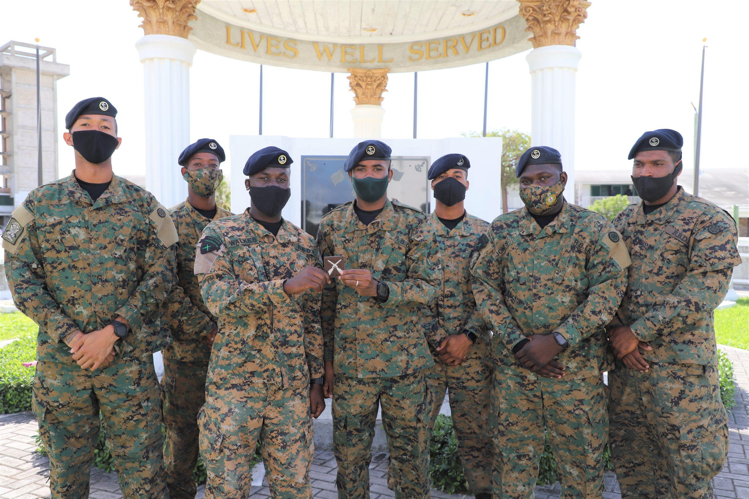 RBDF commando squadron graduation ceremony