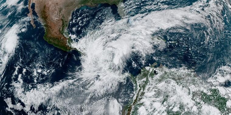 TS Eta brings strong winds, rainfall to northwest Bahamas