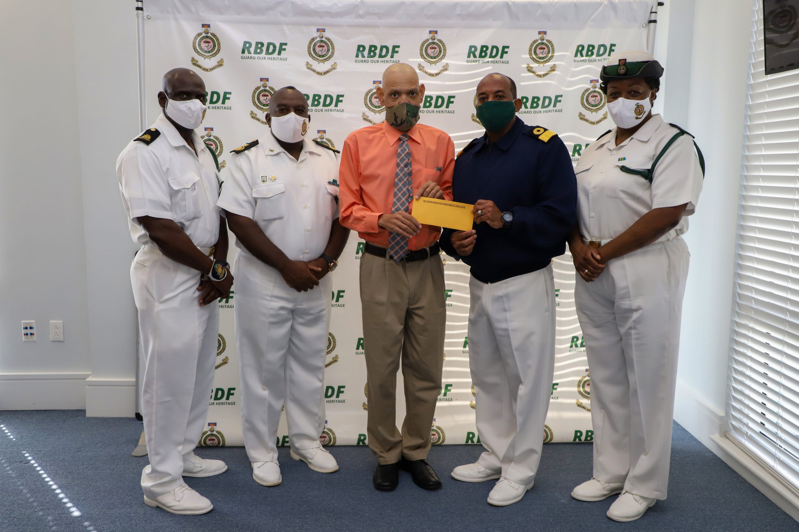 RBDF provides comrade with medical assistance