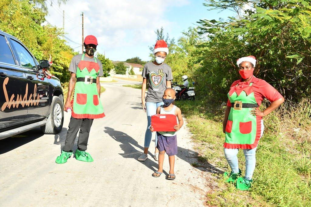 Sandals Foundation, Hasbro spread holiday cheer to Bahamian children