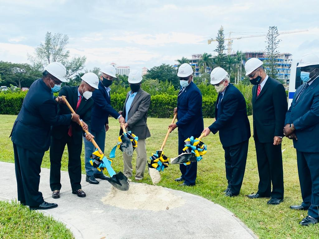 PM breaks ground on new solar parking lot at OPM