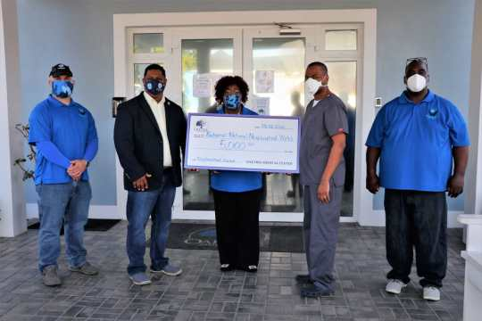 NNWC receives $5,000 from Oaktree Medical Center to help combat crime