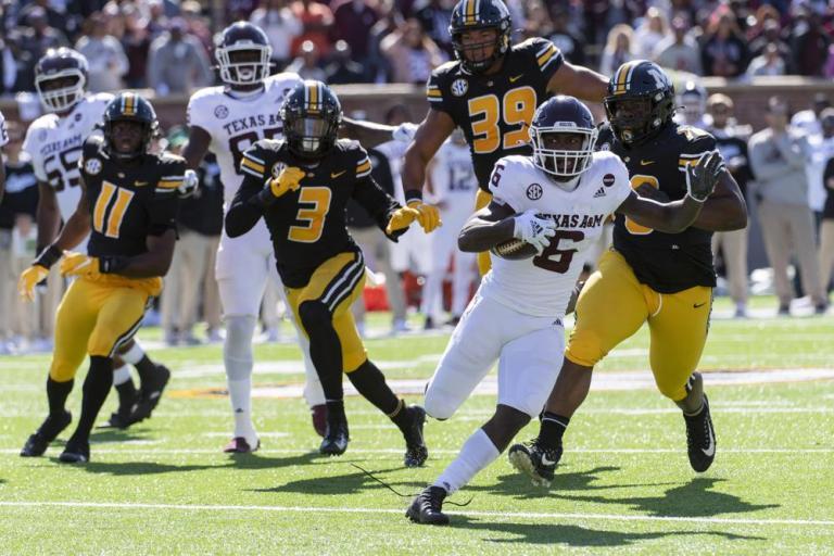 Watch No. 21 Texas A&M runs over Missouri, 35-14 – Texas U.S. News
