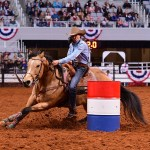 Montana Barrel Racers Dominate 2nd Semi At Fort Worth Rodeo