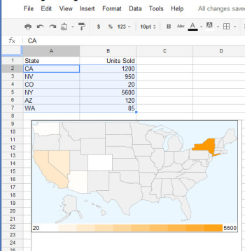 7 Great Google Spreadsheet Gadget