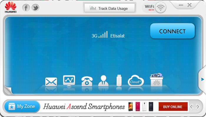 Huawei E303 Firmware Software Update.21.157.31.00.850 - Download