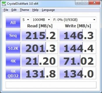 Benchmark Your PC: CrystalDiskMark; click for full-size image.