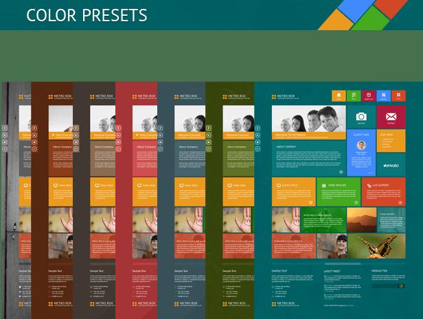 Metro Rox HTML5 WordPress Multipurpose Theme