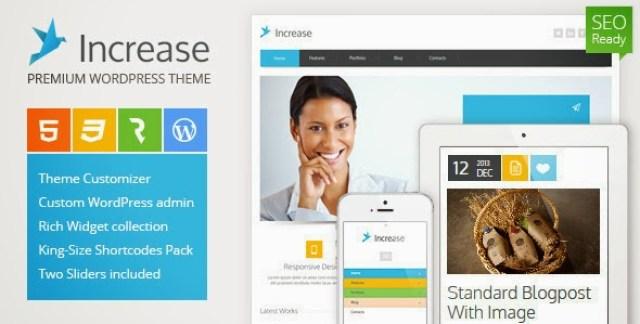 Increase – Premium Business WordPress Theme