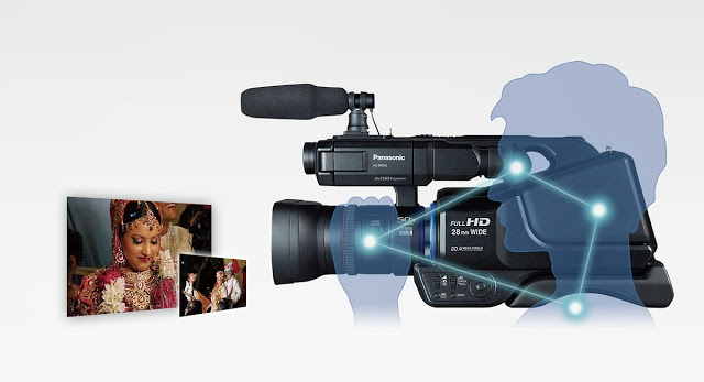 Panasonic Set a New Pace for Film Shooting with HC-MDH2
