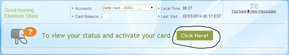 Activate Payoneer Debit Card