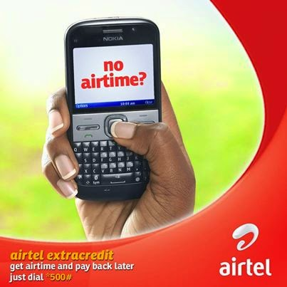 Airtel ExtaCredit – How to Borrow Airtime Credit from your Network Provider