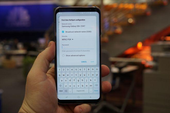 Configure Wi-fi hotspot on Samsung Smartphone