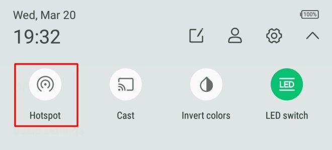 Turn on Wi-Fi Hotspot on Infinix Smartphones