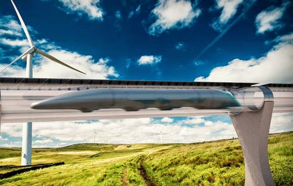 Elon Musk's Hyperloop To be Put To A Working Project In  California 2016