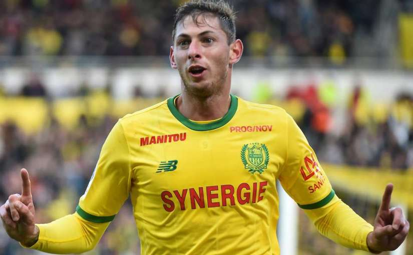 Cardiff City FC Player Emiliano Sala on missing Plane